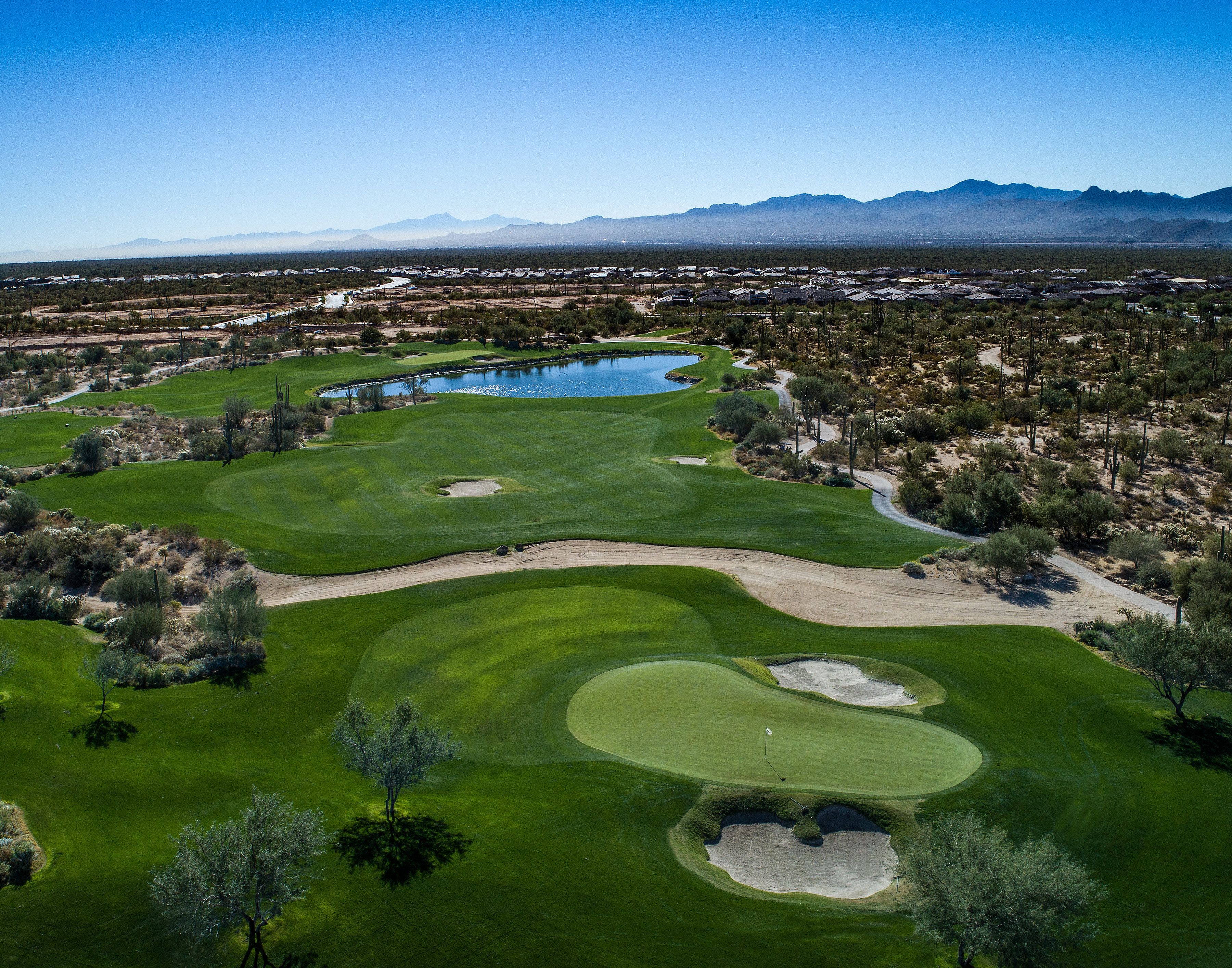 A look at the Saguaro course at Tucson's Golf Club at Dove Mountain